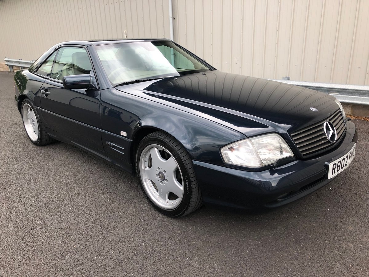 1998 R MERCEDES-BENZ 6.0 V8 SL60 AMG AUTO 375 BHP For Sale (picture 1 of 6)
