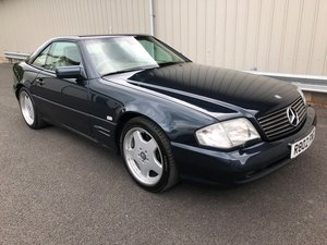 1998 R MERCEDES-BENZ 6.0 V8 SL60 AMG AUTO 375 BHP For Sale