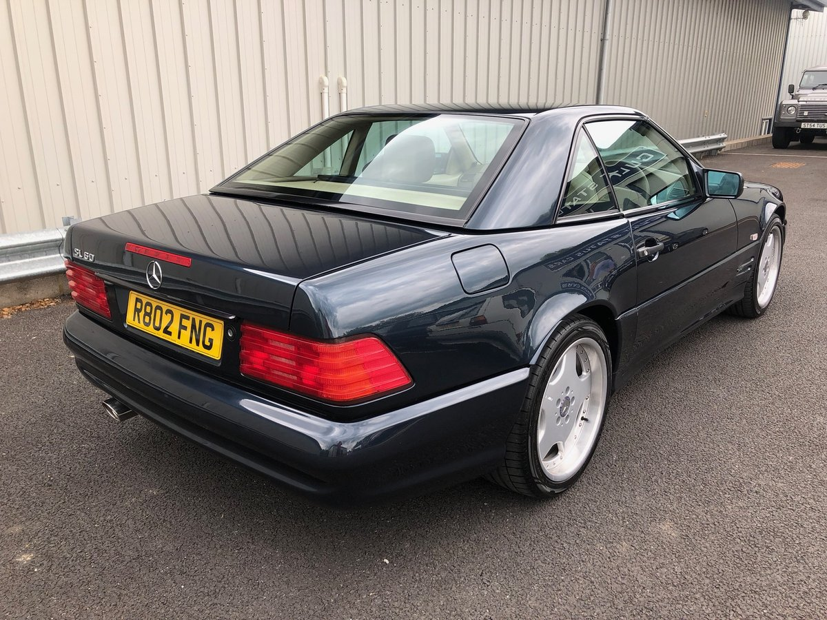 1998 R MERCEDES-BENZ 6.0 V8 SL60 AMG AUTO 375 BHP For Sale (picture 2 of 6)