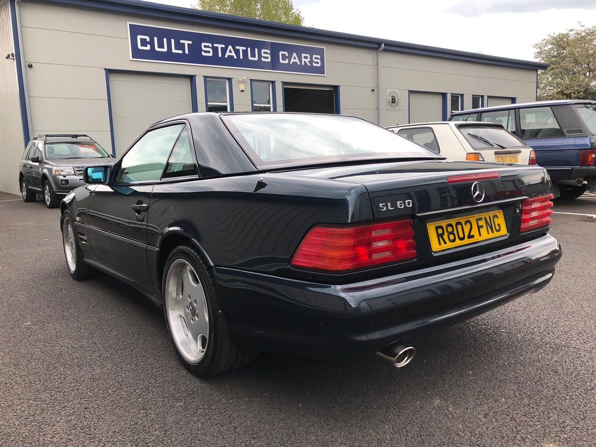 1998 R MERCEDES-BENZ 6.0 V8 SL60 AMG AUTO 375 BHP For Sale (picture 3 of 6)
