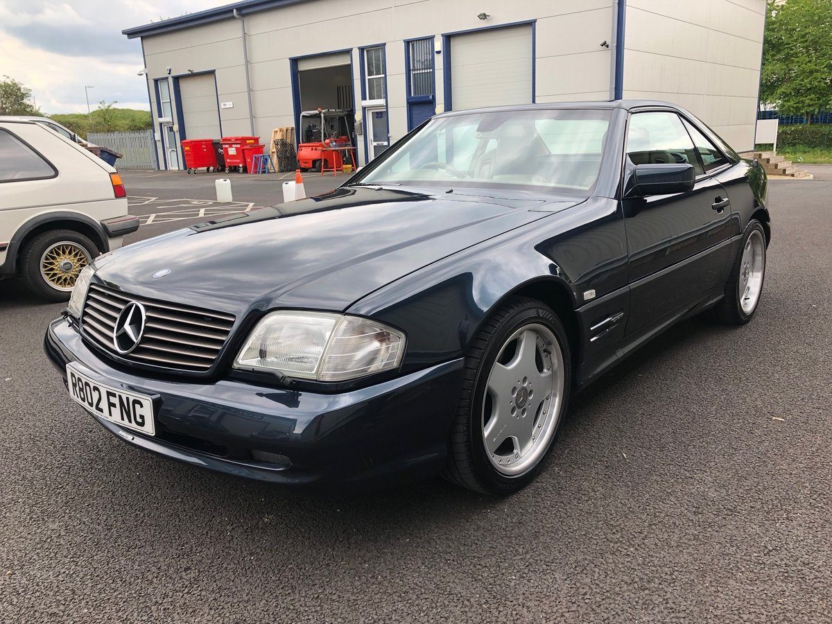 1998 R MERCEDES-BENZ 6.0 V8 SL60 AMG AUTO 375 BHP For Sale (picture 4 of 6)
