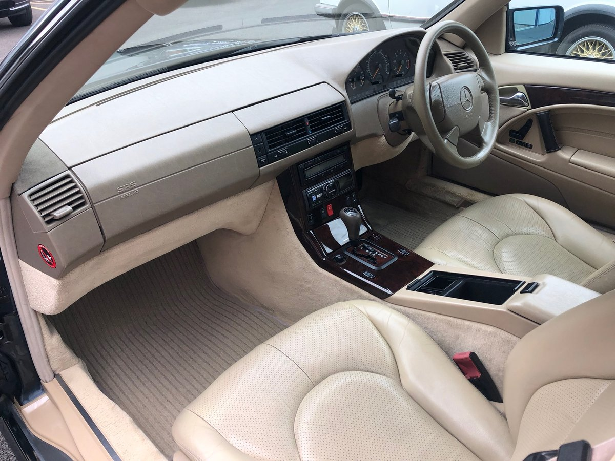 1998 R MERCEDES-BENZ 6.0 V8 SL60 AMG AUTO 375 BHP For Sale (picture 6 of 6)