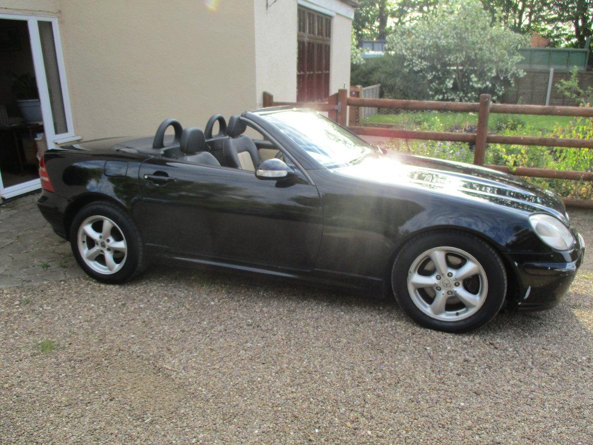 2000 SLK 3.2cc AUTO CONVERTIBEL IN BLACK AUTO 111K F.S.H  MOTED For Sale (picture 6 of 6)