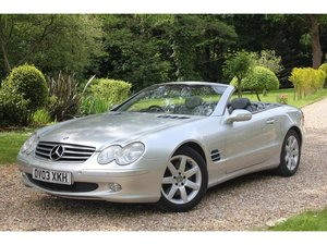 2003 Mercedes-Benz SL Class 5.0 SL500 2dr OUTSTANDING CONDITION