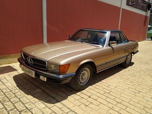 1982 Gold 500 sl For Sale