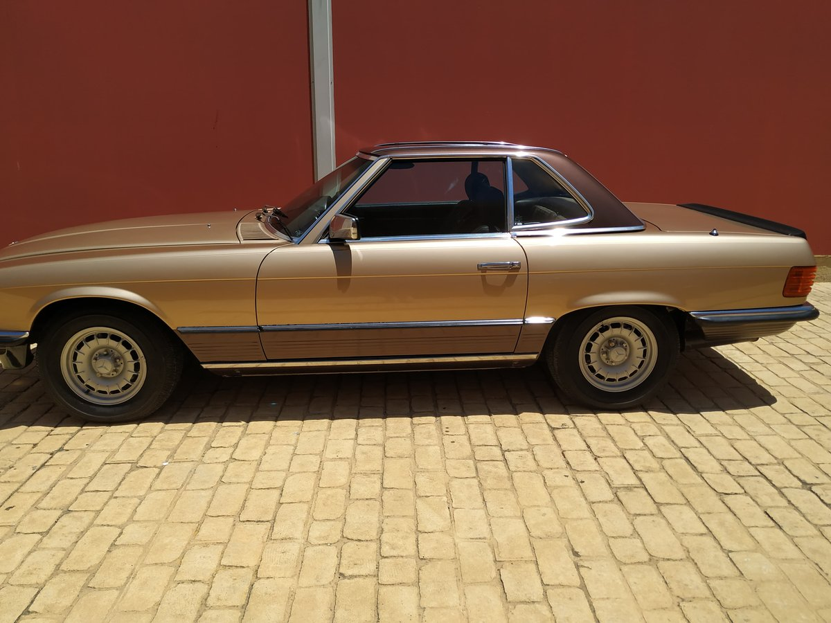 1982 Gold 500 sl For Sale (picture 2 of 6)