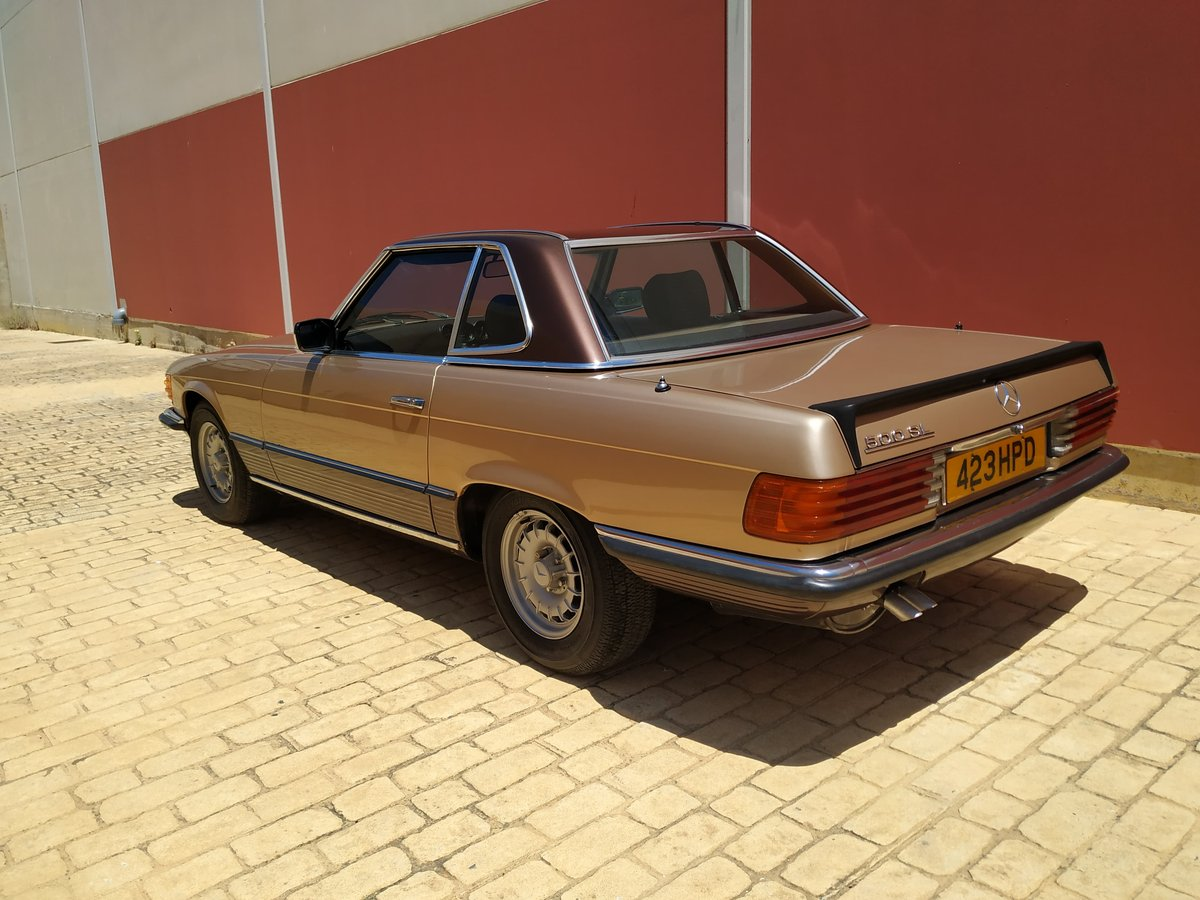1982 Gold 500 sl For Sale (picture 6 of 6)