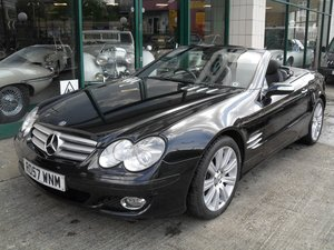 2007 Mercedes Benz SL 500 For Sale