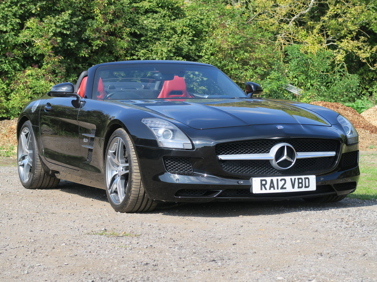 2012 Mercedes SLS AMG Roadster For Sale (picture 1 of 6)