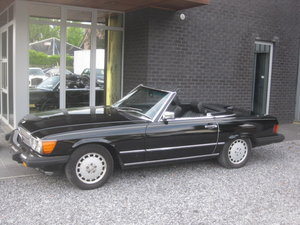 1986 Mercedes SL 560 CABRIO MODEL 107, 4PLACES ! 1OWNER ! 95868MI For Sale