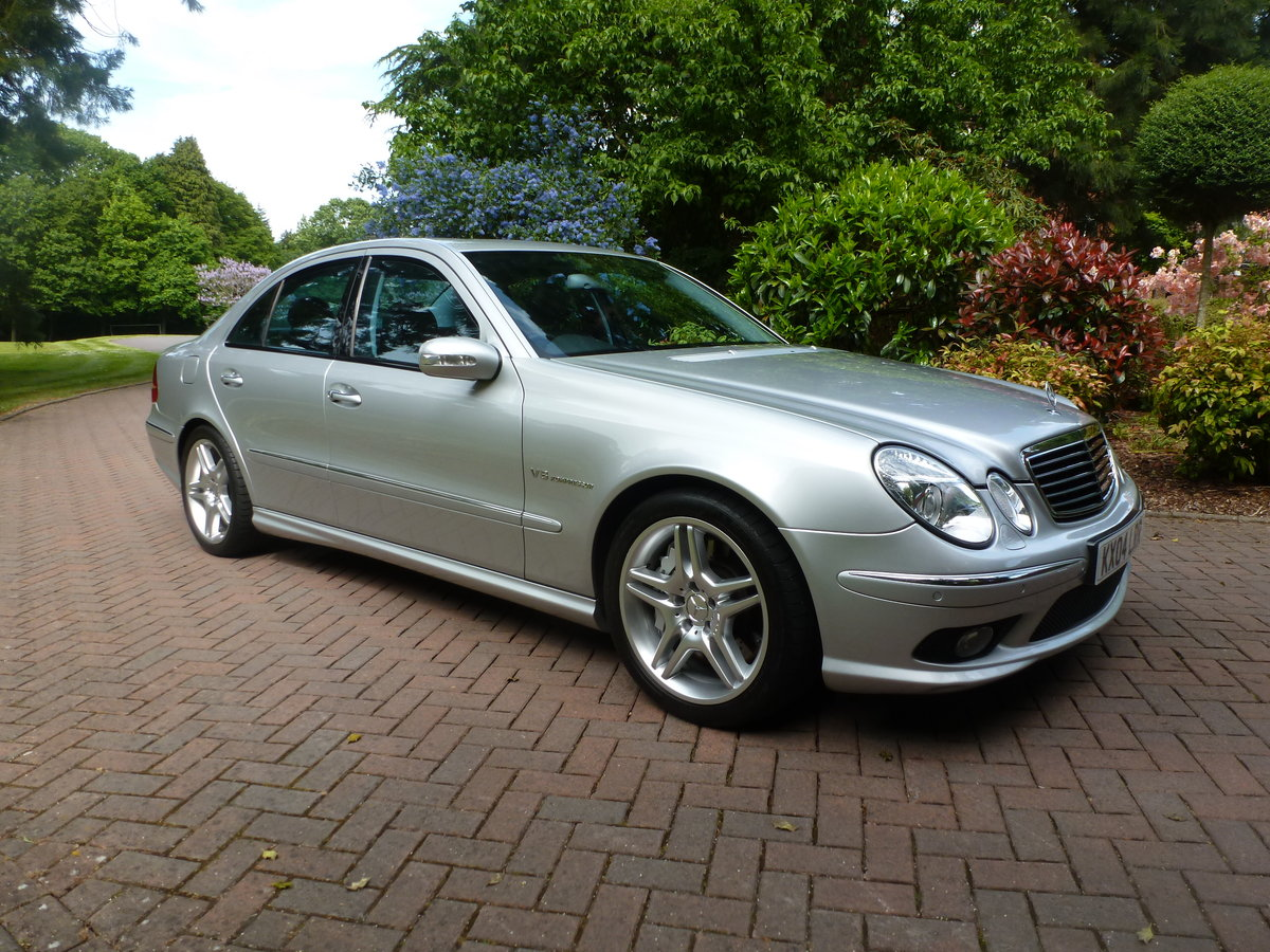 2004 Exceptional low mileage E55 AMG! SOLD (picture 1 of 6)