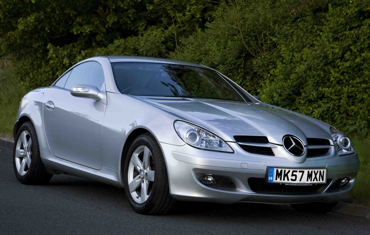 2007 SLK280 7G Auto,immaculate, 20k miles,FMBSH For Sale (picture 1 of 6)