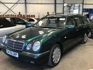 1999 Mercedes E300 Elegance TD A at Morris Leslie Auction For Sale by Auction