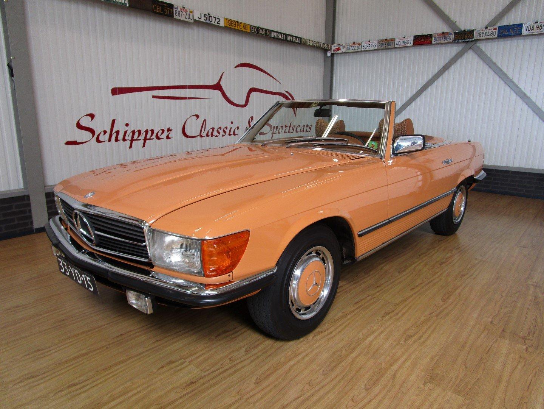 1976 Mercedes 280SL Euro!! Cayenne orange For Sale (picture 1 of 6)