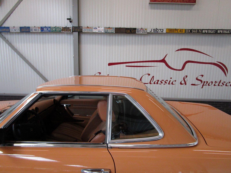 1976 Mercedes 280SL Euro!! Cayenne orange For Sale (picture 4 of 6)
