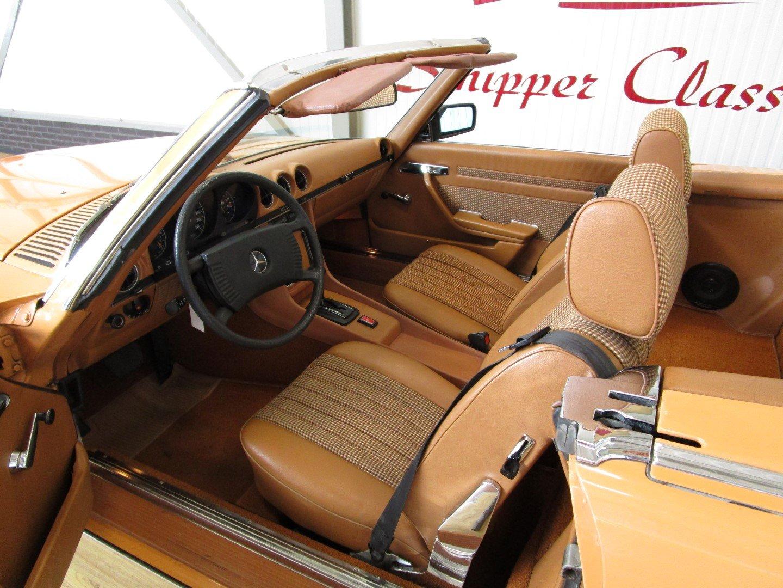 1976 Mercedes 280SL Euro!! Cayenne orange For Sale (picture 6 of 6)
