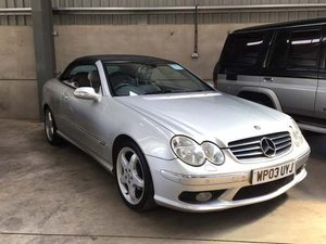 2003 Mercedes CLK320 Avantgarde Auto at Morris Leslie Auction SOLD by Auction