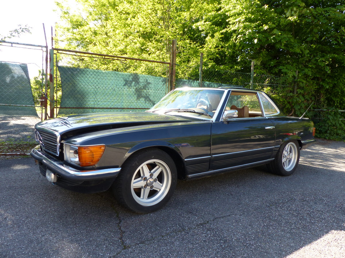 1973 Super-rare: Mercedes-Benz 350 SL with manual gearbox For Sale (picture 1 of 6)
