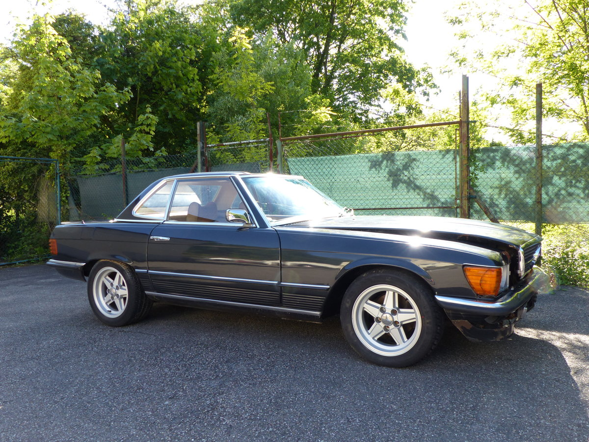 1973 Super-rare: Mercedes-Benz 350 SL with manual gearbox For Sale (picture 2 of 6)