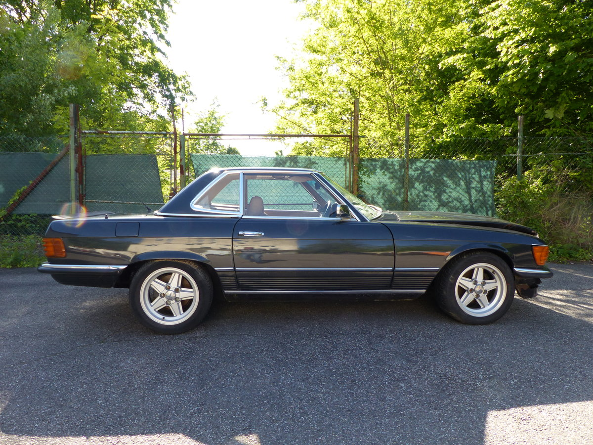 1973 Super-rare: Mercedes-Benz 350 SL with manual gearbox For Sale (picture 3 of 6)