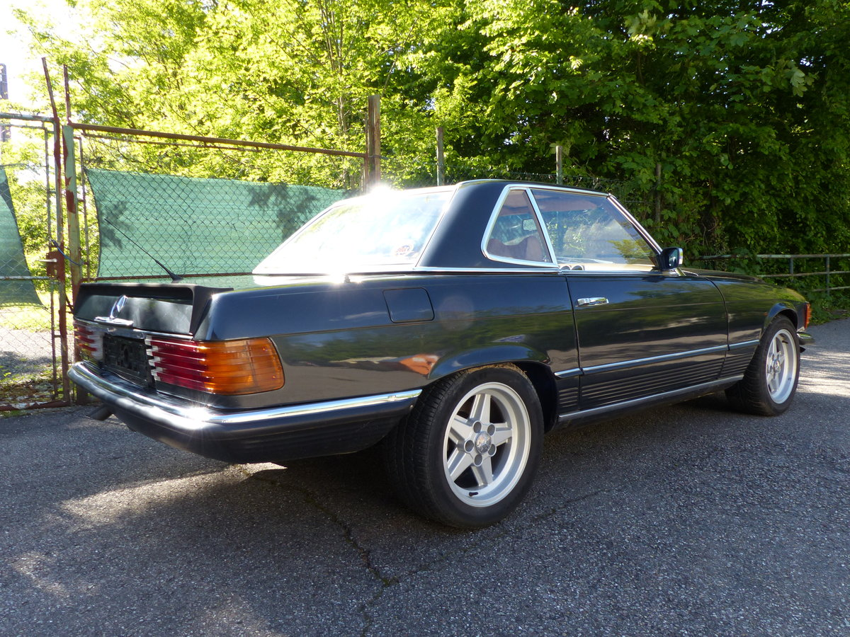 1973 Super-rare: Mercedes-Benz 350 SL with manual gearbox For Sale (picture 4 of 6)