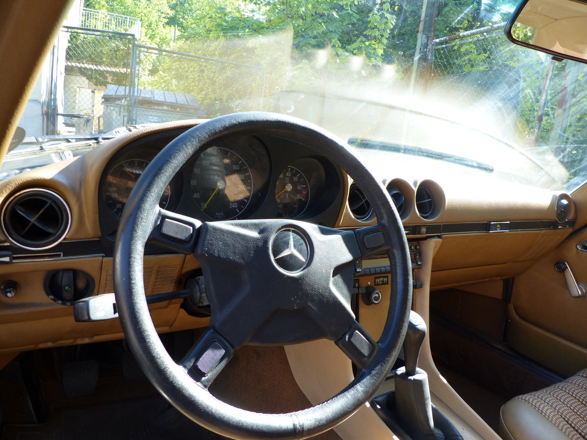 1973 Super-rare: Mercedes-Benz 350 SL with manual gearbox For Sale (picture 5 of 6)
