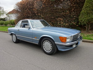 1986 MERCEDES-BENZ 300SL (R107) 27,000 miles only SOLD