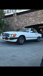 1987 Mercedes 560 SL WITH 87k miles