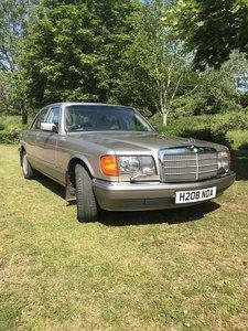 1990 Mercedes s class 126