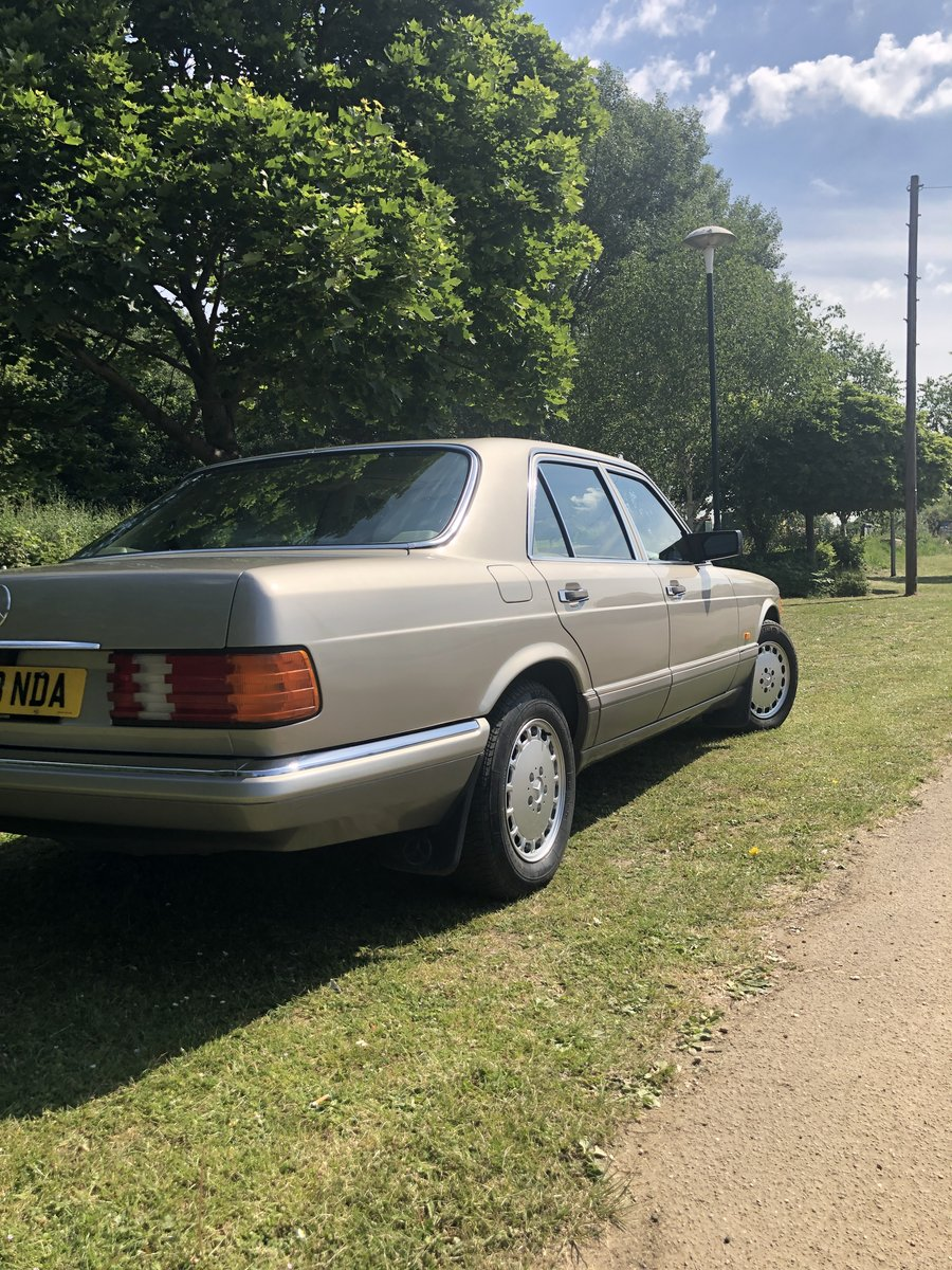 1990 Mercedes s class 126 For Sale (picture 2 of 4)