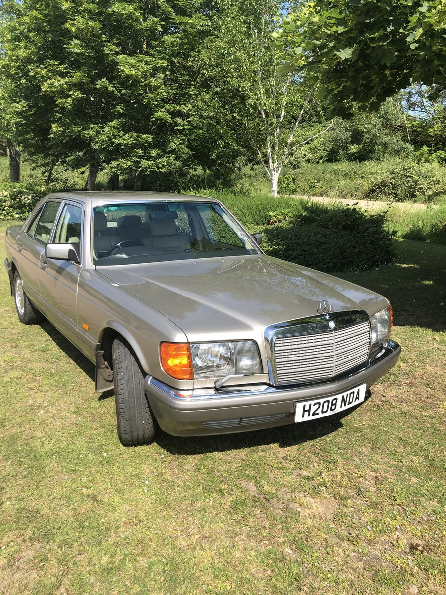 1990 Mercedes s class 126 For Sale (picture 4 of 4)