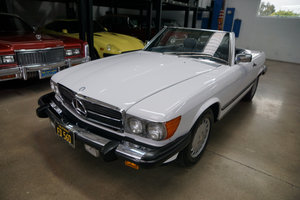 Orig California 1986 Mercedes 560SL with 71K orig miles SOLD