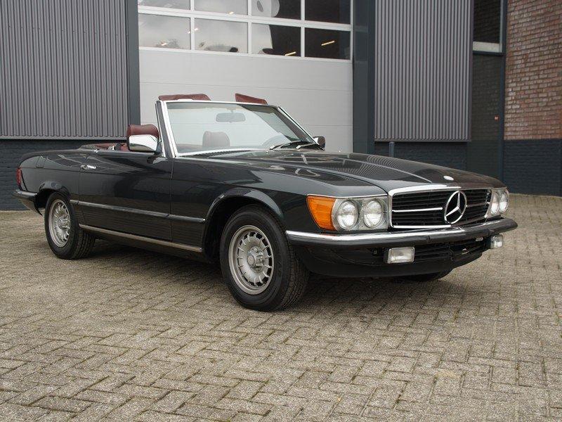 1985 Mercedes Benz 380SL W107 original colour For Sale (picture 1 of 6)