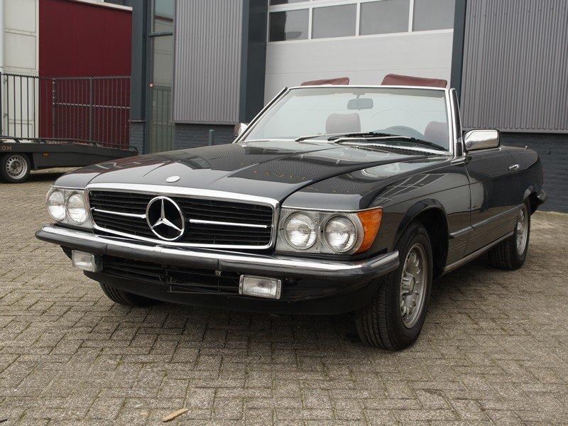 1985 Mercedes Benz 380SL W107 original colour For Sale (picture 5 of 6)
