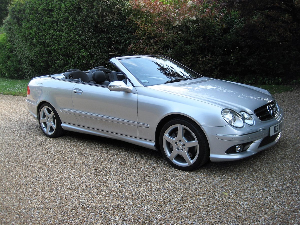2006 Mercedes Benz CLK350 Sport AMG With Just 13,000 Miles  For Sale (picture 1 of 6)