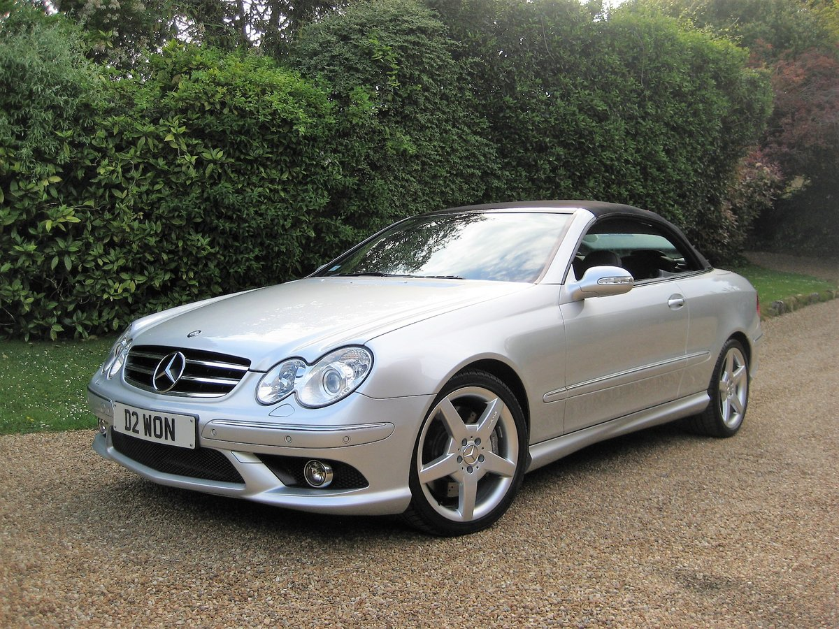 2006 Mercedes Benz CLK350 Sport AMG With Just 13,000 Miles  For Sale (picture 2 of 6)
