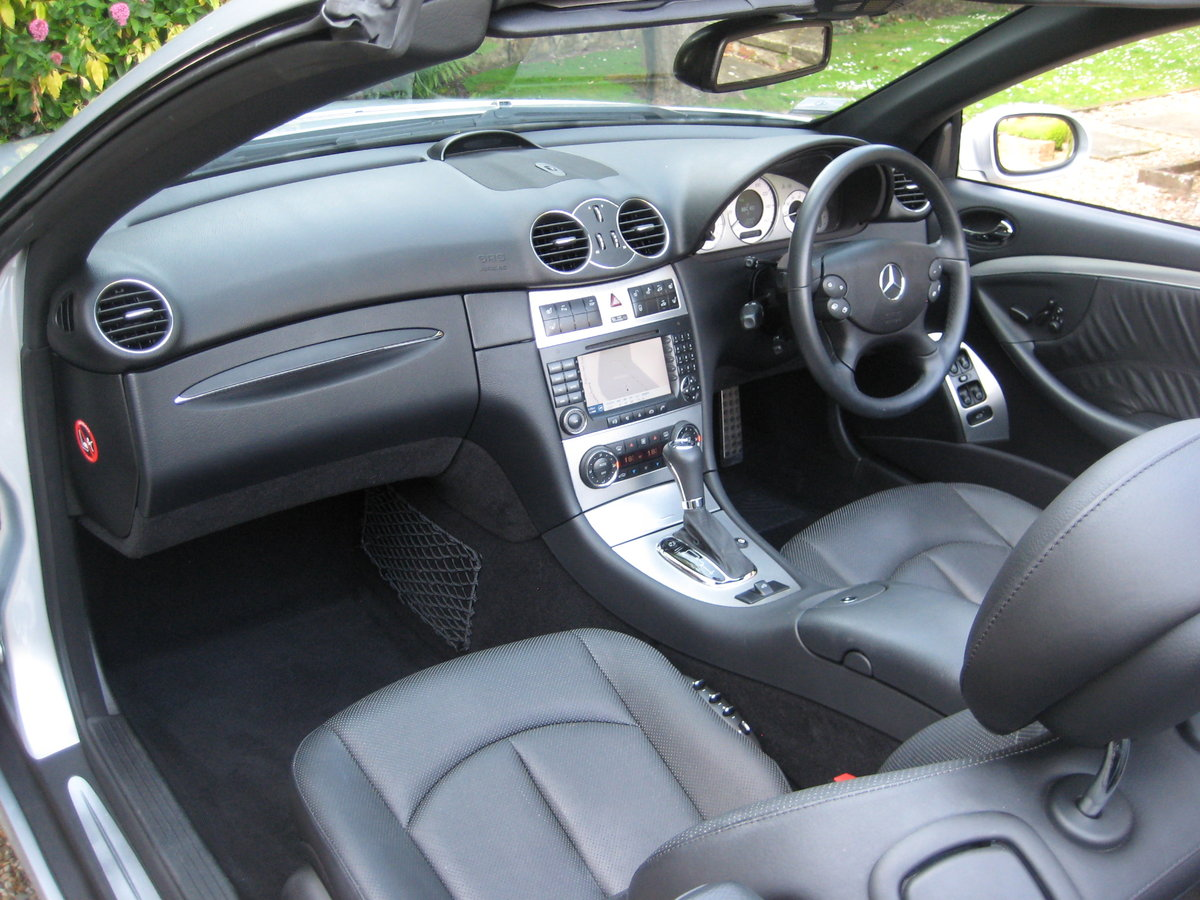 2006 Mercedes Benz CLK350 Sport AMG With Just 13,000 Miles  For Sale (picture 3 of 6)