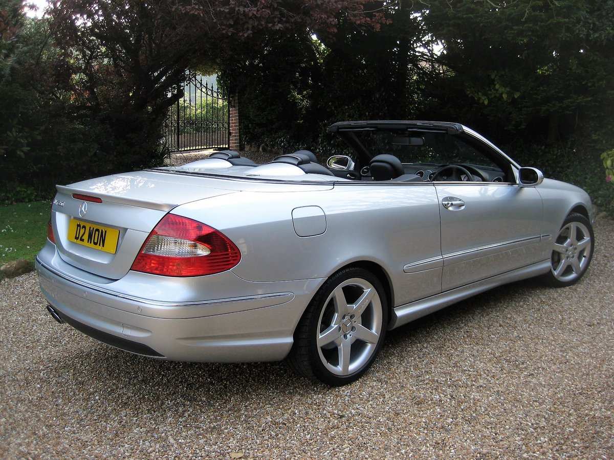 2006 Mercedes Benz CLK350 Sport AMG With Just 13,000 Miles  For Sale (picture 6 of 6)
