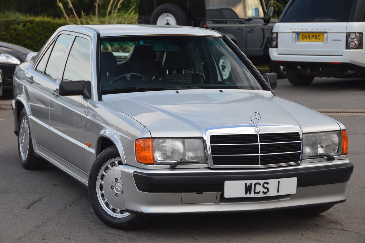 1989 Mercedes 190e 2.5-16 cosworth rhd manual For Sale (picture 1 of 6)