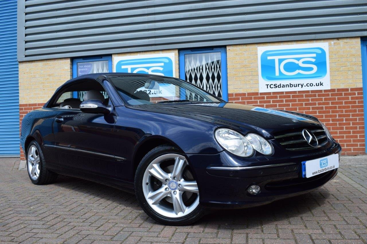 2004 Mercedes CLK240 Convertible Automatic SOLD (picture 1 of 6)