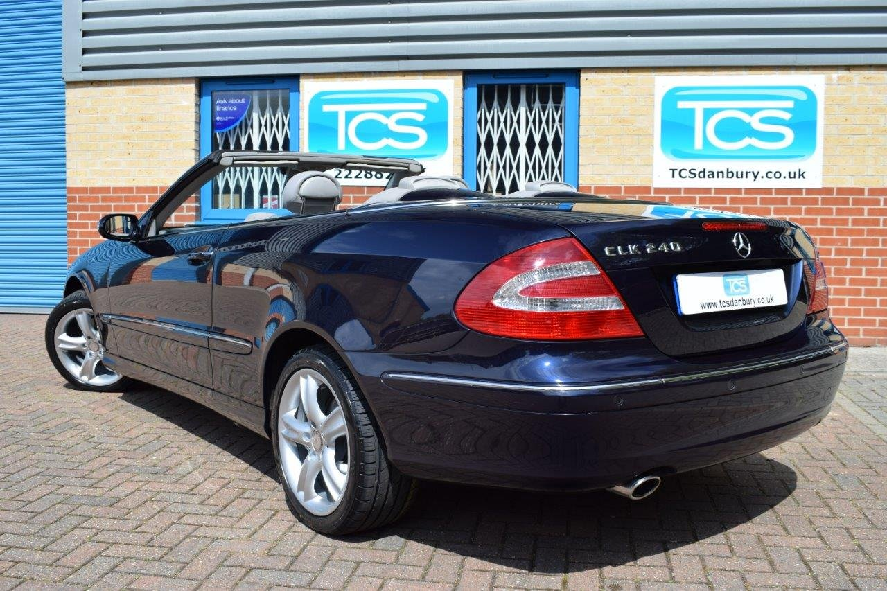 2004 Mercedes CLK240 Convertible Automatic SOLD (picture 2 of 6)