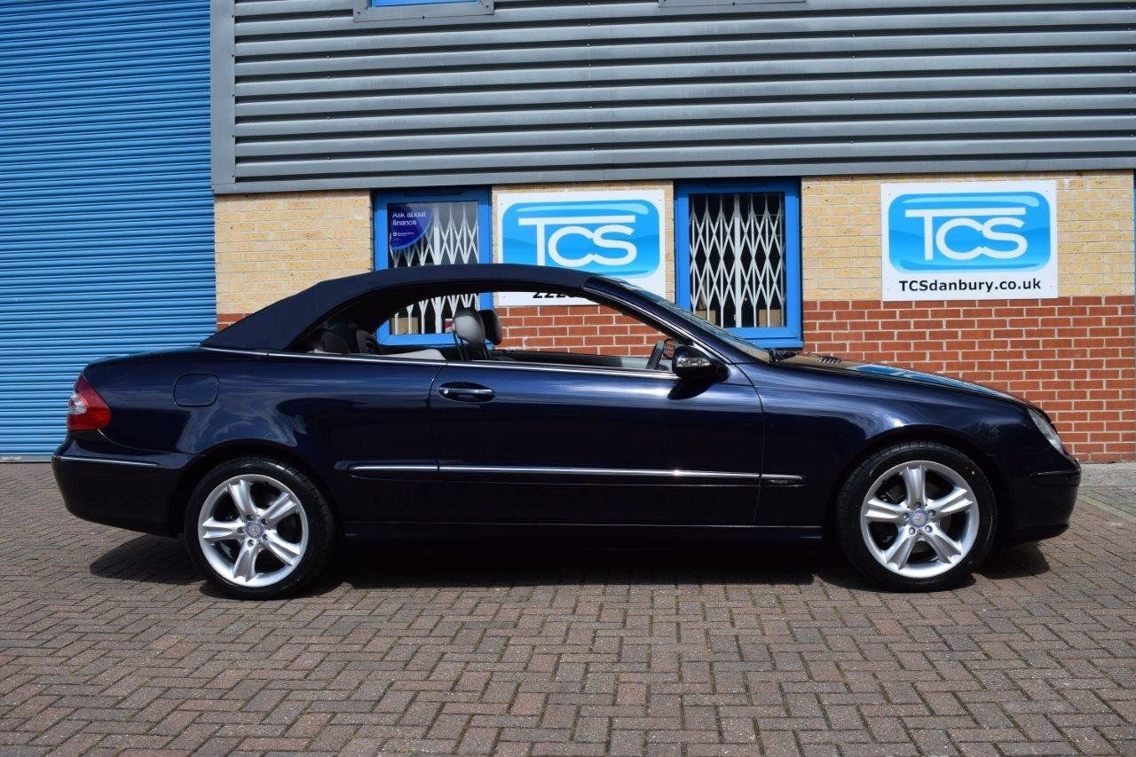 2004 Mercedes CLK240 Convertible Automatic SOLD (picture 3 of 6)