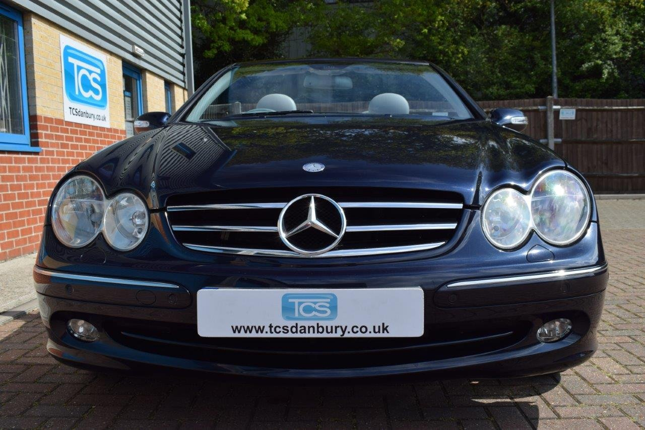 2004 Mercedes CLK240 Convertible Automatic SOLD (picture 4 of 6)