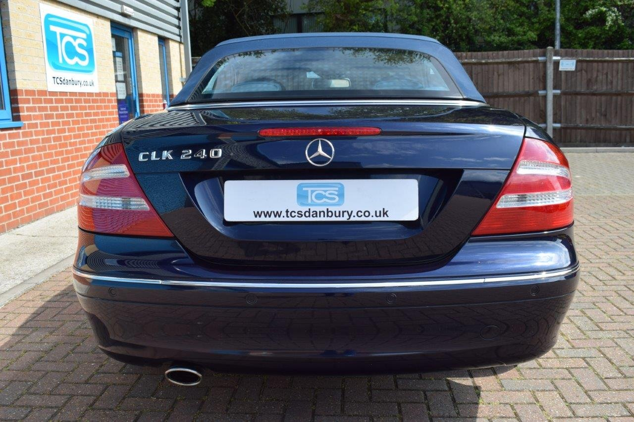 2004 Mercedes CLK240 Convertible Automatic SOLD (picture 5 of 6)