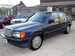1988 Mercedes W201 190E 2.6 Auto - 77K  - FSH - Highly Optioned SOLD