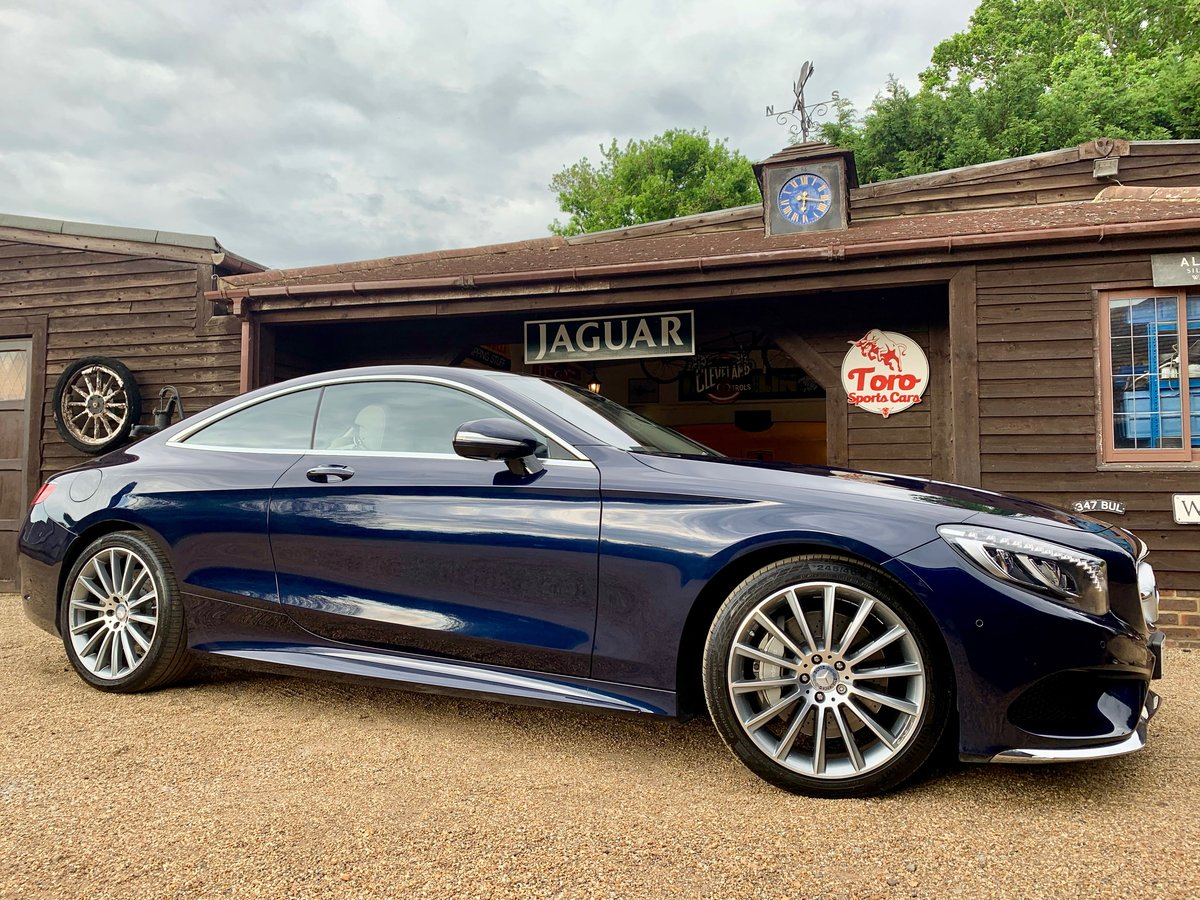 2015 MERCEDES-BENZ S500 COUPÉ AMG LINE PREMIUM. 1 OWNERS 12K SOLD (picture 1 of 6)
