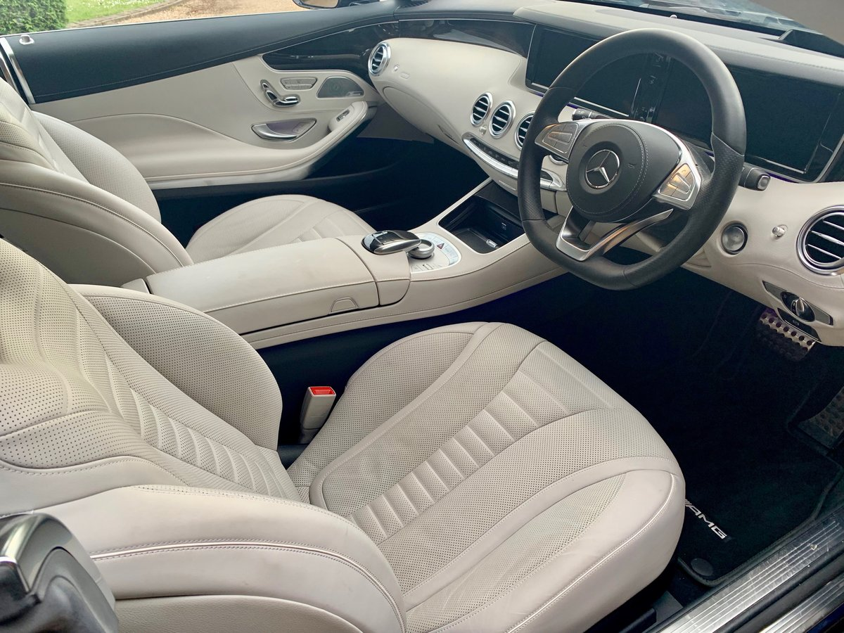 2015 MERCEDES-BENZ S500 COUPÉ AMG LINE PREMIUM. 1 OWNERS 12K SOLD (picture 3 of 6)