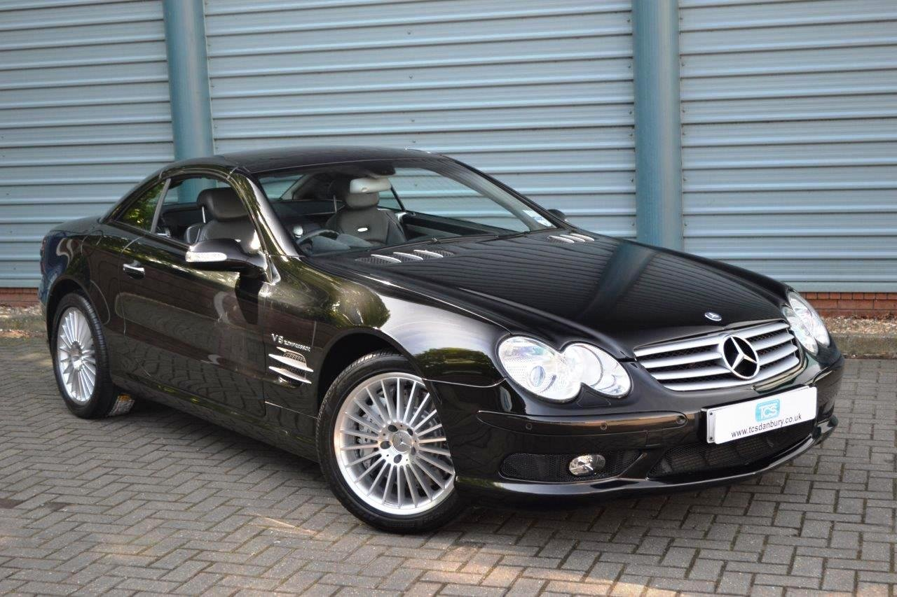 2004 Mercedes-Benz SL55 AMG Roadster Panoramic Roof SOLD (picture 1 of 6)