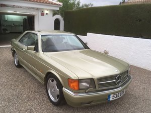 1986 Classic Mercedes 500SEC For Sale