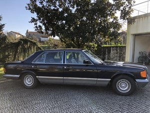 1983 Mercedes 500 SEL V8 231hp For Sale